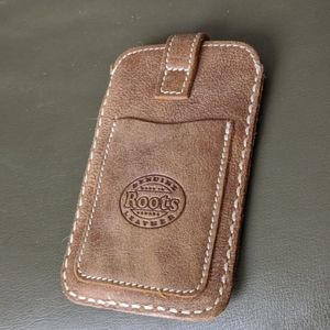 Roots Tribe Leather Slip Case